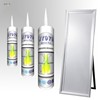 Sealant Supplier JY979 Multi Purpose No Smell Silicone Sealant For Mirror