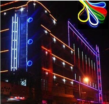 Building Outline 220v Led Neon Lighting