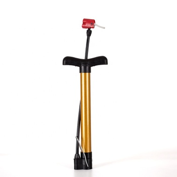 Portable Bike Bicycle Steel Pipe Pump Ball Tire Hand High Pressure Inflator Mountain Cycling Accessories Hand Air Pump