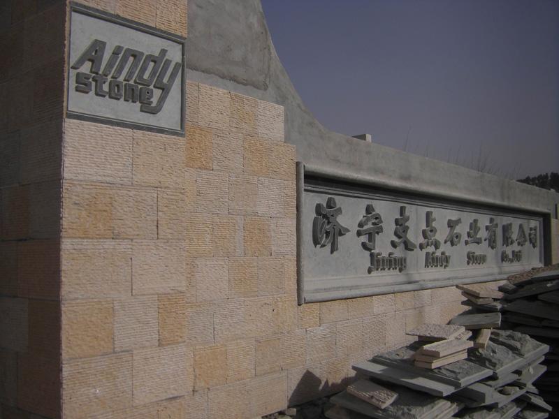 Luar Ruangan Alami Batu Biru Kotak Surat