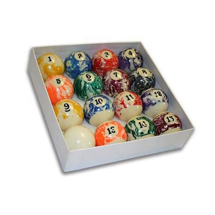 USA Deluxe Pool Ball Set Standard Mini  Pool Table Billiard Ball Set, Art Number Style pool table include cue ball