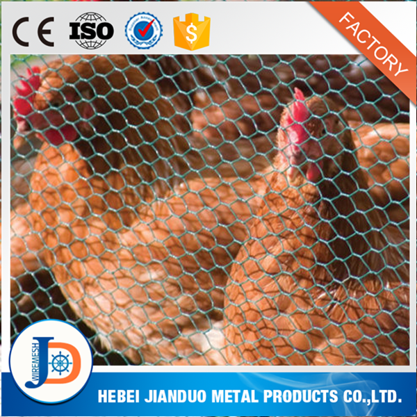 Cheap Price Galvanized Wire Mesh Rolls / Rabbit Cage / PVC Coated Chicken Coop Wire Netting Hexagonal