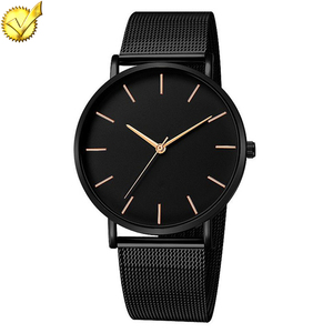 T0085 Top Popular AAA Quality Love Companion Mesh Strap Men Watch 2018 Luxury Wholesale