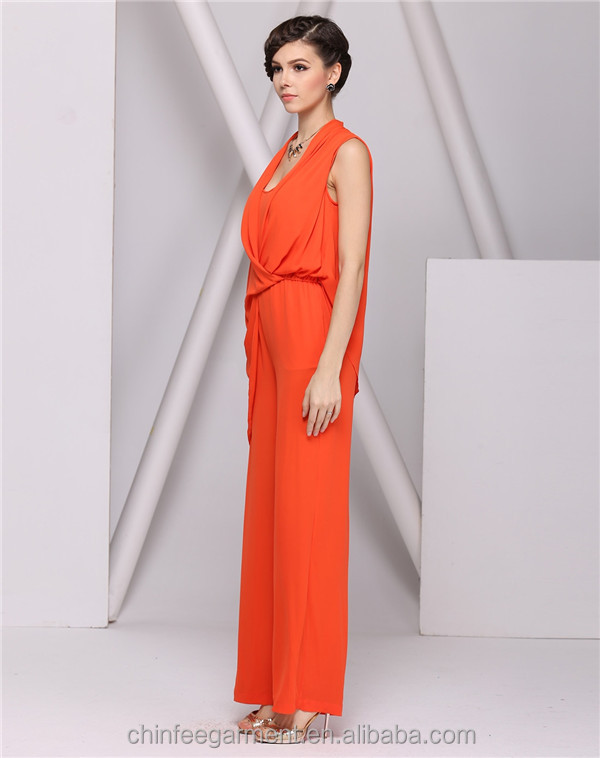Collection Orange Jumpsuit Womens Pictures - Reikian