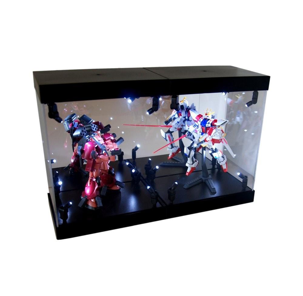Acrylic Box With Led : Perspex organic glass led illuminate acrylic box display