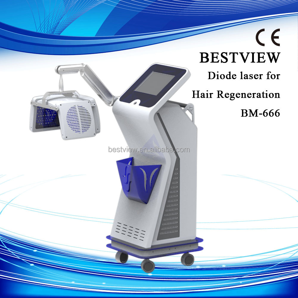 Christmas Promotion! 2016 low level laser hair restoration /hair regrowth laser machine
