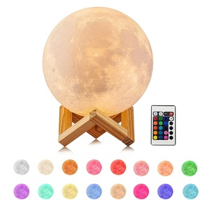 Factory outlet moon lamp 3d night light