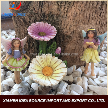 Wholesale Products Resin Miniature Garden Fairy Statues/Resin Gift Kits