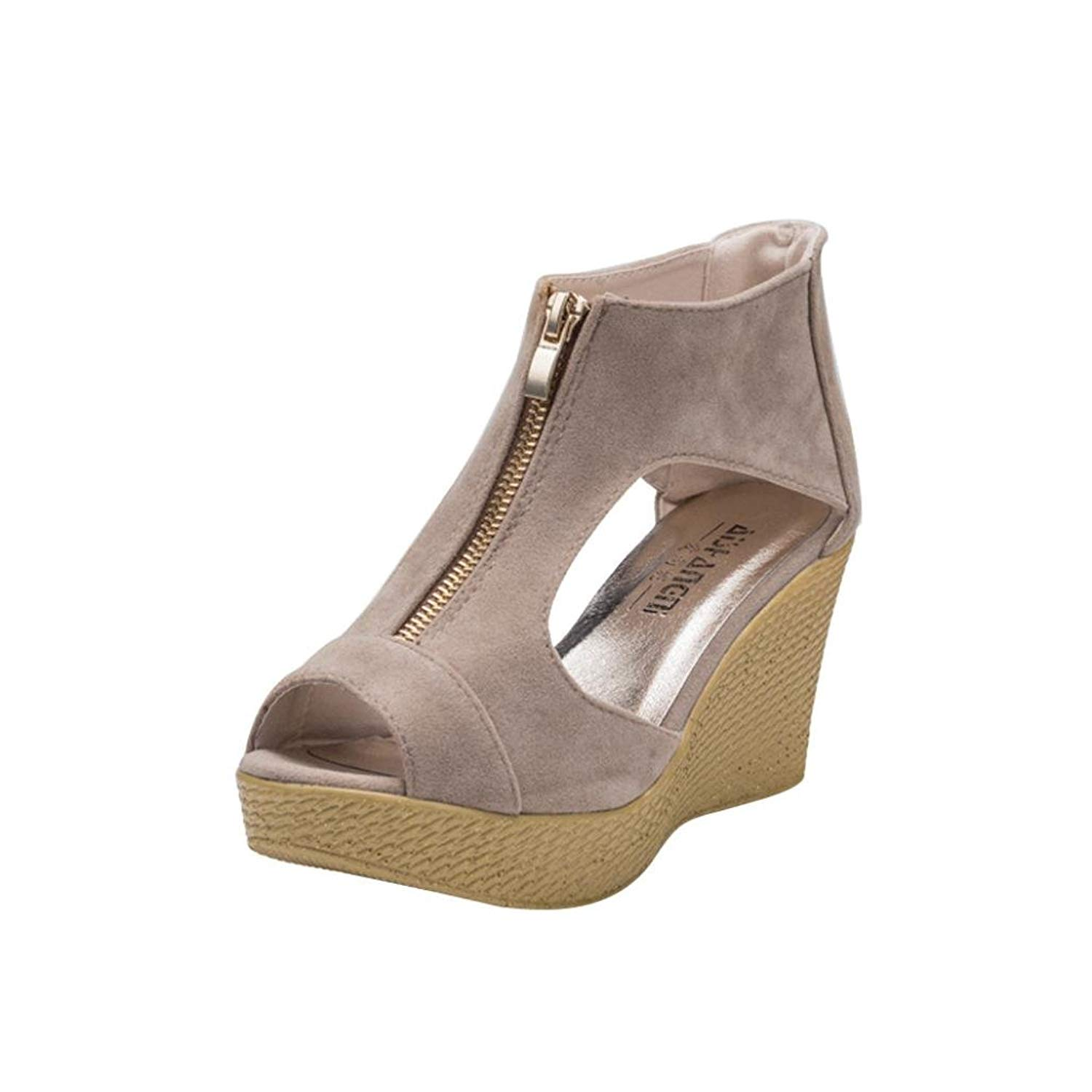 cf520aef99fe Get Quotations · Clearance Sale! ❤ Universal Bohemia Platform Sandal for  Women