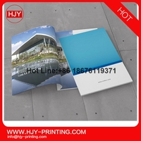Coffee table book printing hardcover / furniture catalog /cheap magazine printing