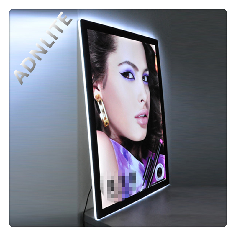A1 A2 A3 A4 crystal led picture frame hotel sign board
