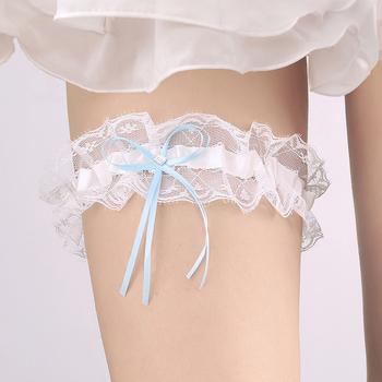 f563b528c Amazon Hot Garter Nupcial com Mulheres Sexy Leg Garter para Acessórios Do  Casamento