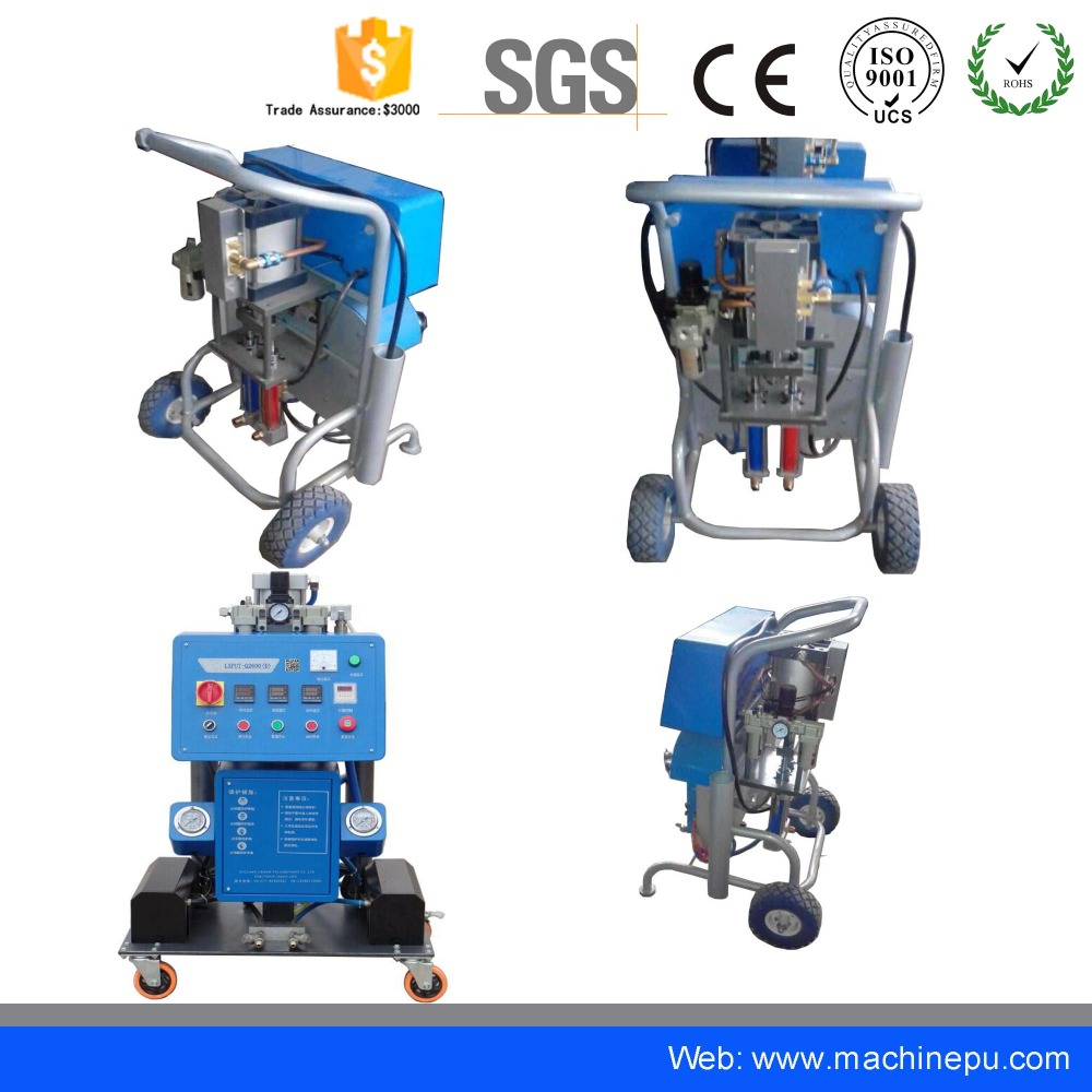 Pu Polyurethane Spray Foam Machine For Insulation Panel