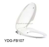 hygienic toilet seat with cleaning bidet nozzle