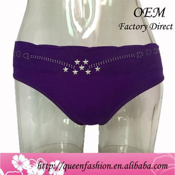 8b6e3b757b5 Sexy Women Seamless Underwear Fashion Lady Appliques Panties Soft Cotton No  Trace Briefs Tangas Calcinha Ropa