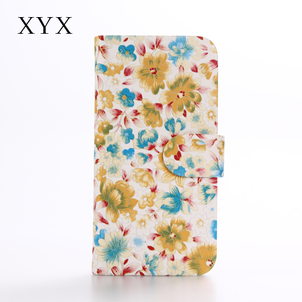 Chinoiserie style with flower pattern on surface crystal pc case cover for huawei GR3 mobile phone