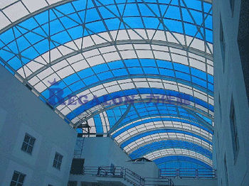 Polycarbonate Roof Covering Plastic Sheet Skylight Panel