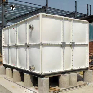 Chinese manufacturers to produce 40m3 grp water tank for hot sale