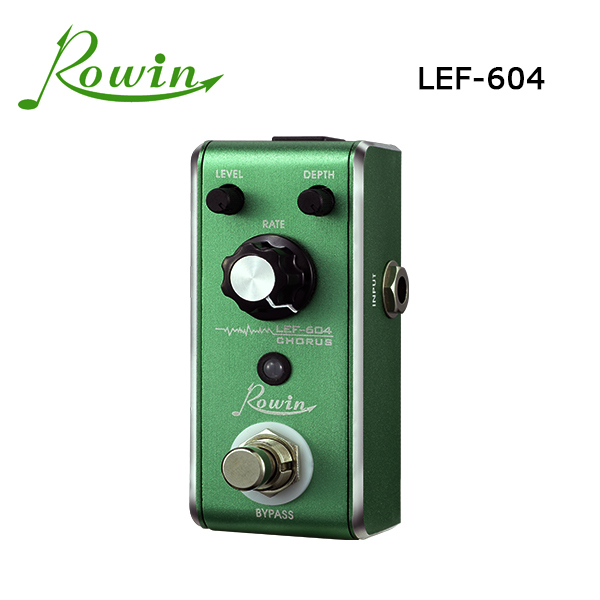 2015 new product musical instrument accessories Rowin guitar effects pedal