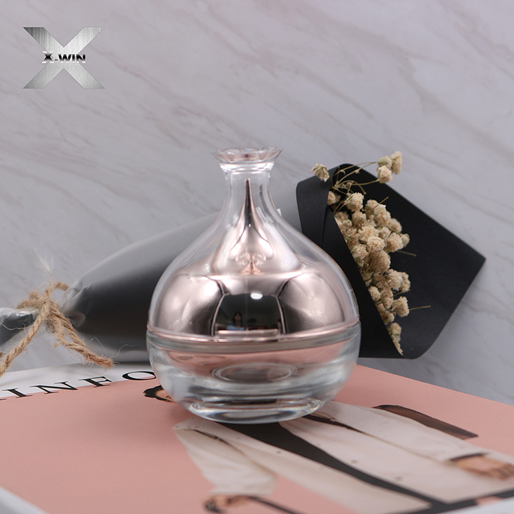 beautiful design 30ml-120ml cosmetic packaging pink glass body cream lotion serum water spray bottle pump