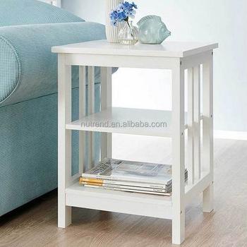holz langlebige moderne beistelltisch mit mission stil design buy product on. Black Bedroom Furniture Sets. Home Design Ideas