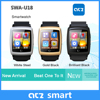 The highest OS Android4.4 smart watch GPS WIFI full function compatible with Andriod devices only smartwatch phone