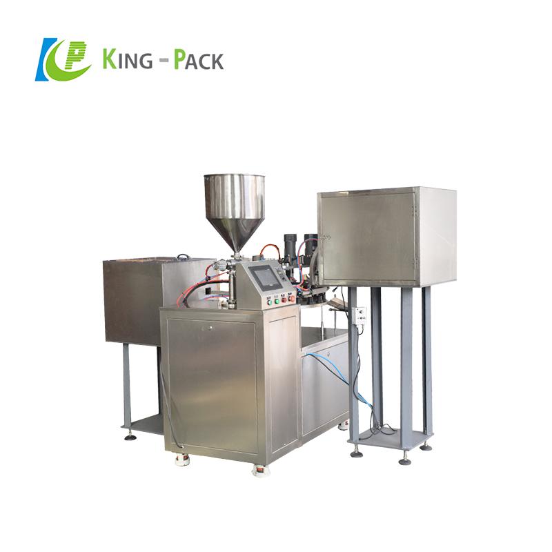 Automatic nail polish gel polish filling machine
