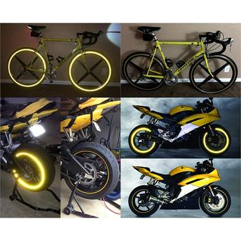10 retro reflective stickers kit, Night visibility safety, Universal adhesive for Bike/Stroller / Buggy/Helmet / Motorcycle