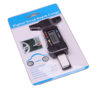 Digital Tire Tread Depth Gauge Meter Measurer for Cars Trucks and SUV, 0-25.4mm