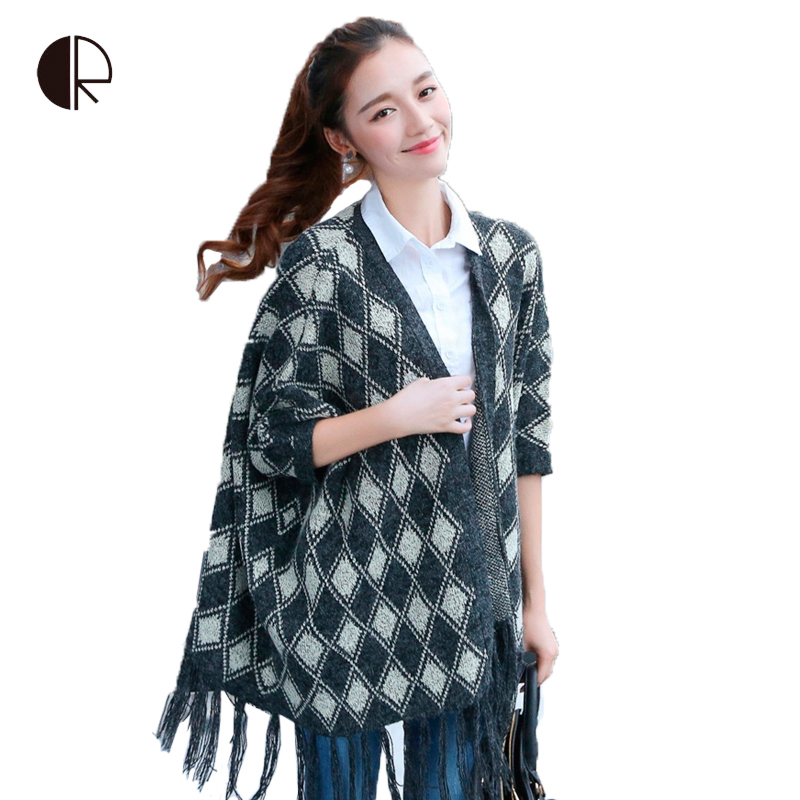 28150af5cf Get Quotations · 2015 New Women Korean Long Cardigan Crochet Casual  Oversized Open Stitch Knitted Coat Thick Spring Autumn