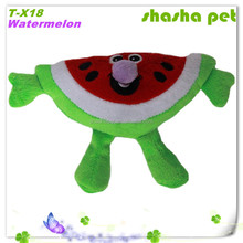 New Pet Products China Pet Products Manufacturer,Watermelon plush squeaker pet toy