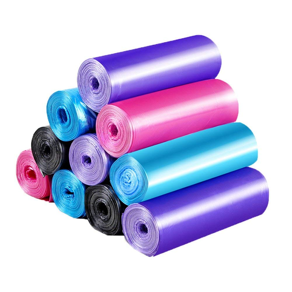 5 rolls of multi-purpose garbage bags, household items, department stores, daily necessities, household daily garbage bags, multi-purpose bags