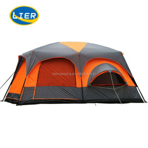 Family look Camping Equipment 2 Bedroom Tent