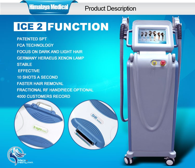 Fda Ce Approved Latest Ipl Shr Hair Removal Ipl Skin
