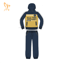 Hooded Kids Garments Boy2 Pcs Clothing Set Collection