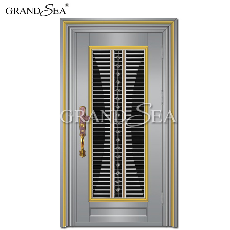 Price Of Decorative Residential Single Stainless Steel Safety Door Grill  Design - Buy Stainless Steel Safety Door,Stainless Steel Safety Door