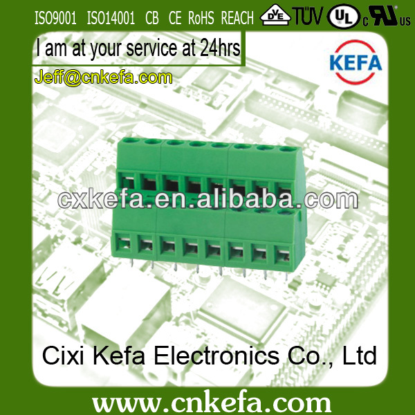 KF128A-5.0/5.08mm Double Row TE Eurostyle Terminal Block 300V/10A