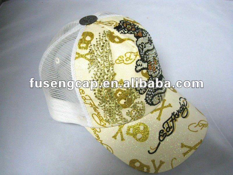 Ed Hardy Unisex Baseball Caps of Various Colors