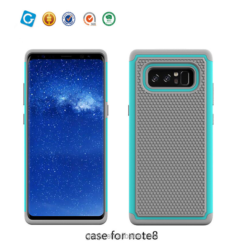 For Samsung note 8 protective tpu+pc phone cases