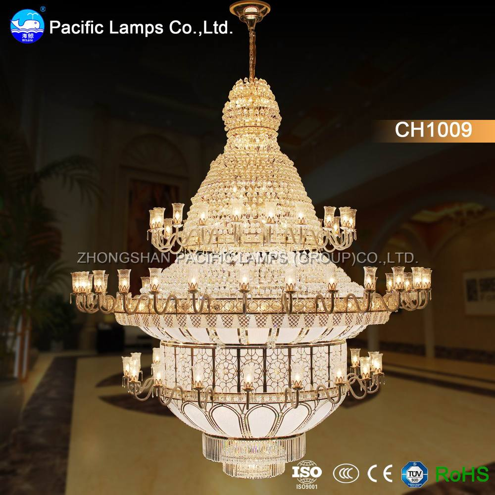 Zhongshan large hotel chandelier for high ceilings buy hotel zhongshan large hotel chandelier for high ceilings arubaitofo Image collections