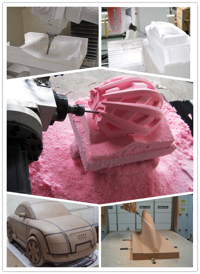 wood mold art design cutting big atc cnc router machine 4 axis 5axis cnc milling machine