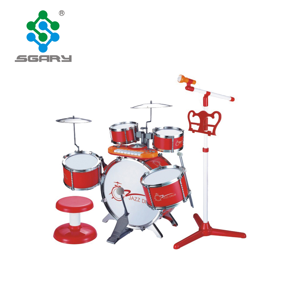 Marke Neue musical instrument jazz trommel spielzeug kinder drum set