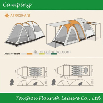 Sport Yosemite 5 Person 2 Room Dome Ozark Tent 10 X 8