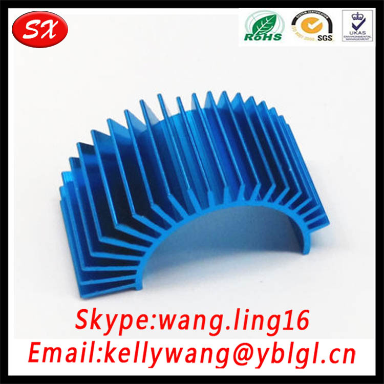 ISO 2001 RC Car 540 550 580 Fan Heat Sink,Motor Aluminum Heatsink