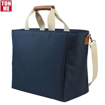 fb28fd7ff2 Outdoor Travel Picnic Insulated Cooler Bag Wine Carrier Tote Large Cooler  Organizer Reusable Lunch Bag