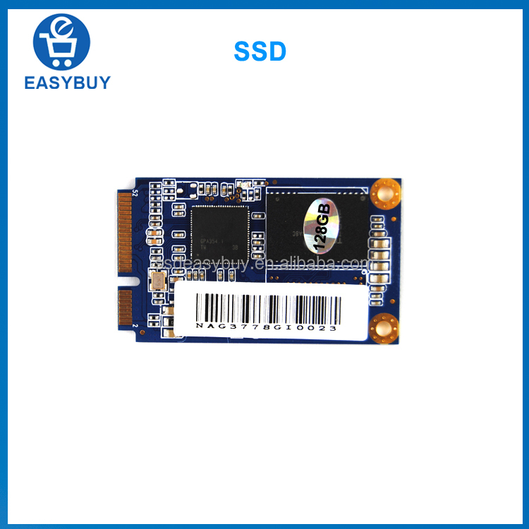 Best price msata 510MB/s Sequential Read 128gb ssd hard disk