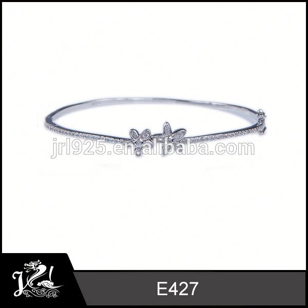 Turkish design crystal jewelry hot sale s925 bangle with stars chinese stone jewelry
