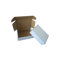 wholesale cardboard box custom logo shipping boxes t-shirt packaging