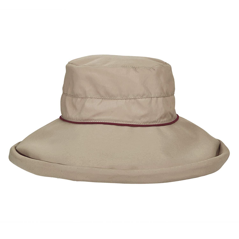 Buy Stetson No Fly Zone Big Brim Mesh Safari Hat w  Chin Cord (Khaki ... d6c931628f81