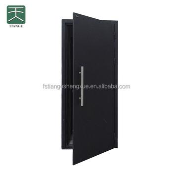Wood And Steel Soundproofing Door